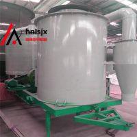供应铼申移动式100吨粮食烘干机 配备有自动在线测温 测湿装置