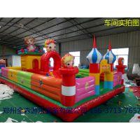 热销冰雪世界大冒险充气城堡儿童乐园充气水上滚筒等其他玩具