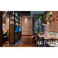 名设网餐厅装修设计案例_餐厅个性装修设计效果图