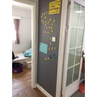 Magwall厂家出售彩色儿童黑板双层结构静灰色涂鸦墙膜磁性写字板