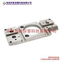 CNC加工中心精密加工 不锈钢精密安装板来图定制 粗糙度可达0.4 深圳五金厂