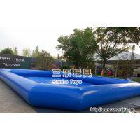 贵州六盘水大型充气游泳池为孩子提供干净的泳池