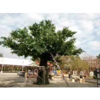 大型商场假树 假榕树 水泥仿真树定做 广东仿真树厂家