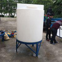 常州华社1吨 PE加药箱 计量箱 搅拌罐 投药桶 耐酸碱抗腐蚀