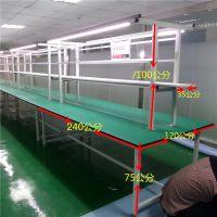 防静电工作台 实验室工作桌 车间生产打包台颖利工厂定制