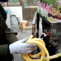 单缸汽油膨化机 振德 七用玉米膨化机 多种花型麻花膨化机