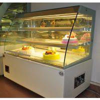 喜之洋弧形风幕柜保鲜柜冷藏展示柜开放式蛋糕柜 广东冷藏蛋糕展示柜厂家 广州佛山风幕柜厂家