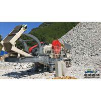 泰安建筑垃圾移动破碎站优势 碎石机厂家 矿山石料碎石机