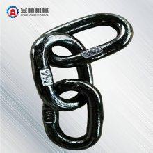 矿用刮板机圆环链金林刮板机输送机配件矿用耐磨链条传动用短节距滚子链