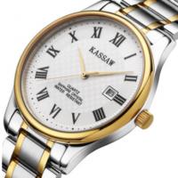 卡梭男士正品手表时尚商务精钢防水商务休闲石英表男式腕表
