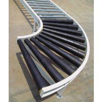90度 180度标准转弯滚筒线 弯道无动力输送模块 转弯滚筒线水生机械专业生产