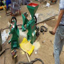 两相电家用玉米制糁机 润众 磨面房无尘制糁机