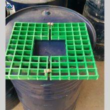 玻璃钢护树池网格板哪里有卖的 25mm 孔径3.1/3.4cm 色彩艳丽 河北华强