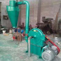 多功能齿爪式饲料粉碎机 秸秆加工电动磨粉机 齿盘式磨粉机