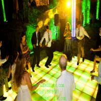 厂家直销 虹美 RGB跳舞地板砖 LED舞池 1X1m酒吧婚庆舞台亚克力地板砖 多颜色地板砖