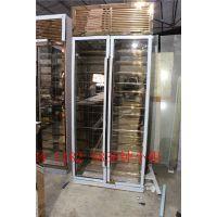 钢之源钢化玻璃不锈钢酒柜,云南现代中式不锈钢红酒柜