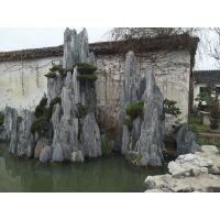 庭院水泥假山设计|长治庭院水泥假山|萌轩景观