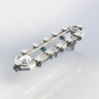 厂家直销凯铭CRP S系列标准款环形导轨循环装配线