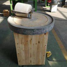 花生浆专用电动石磨设备 文轩耐磨青石豆浆机