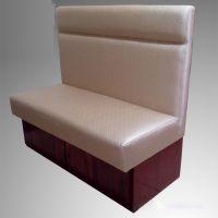 简约卡座式沙发高度多少,众美德餐饮家具定制,价格实惠