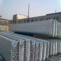 热镀锌喷塑波形护栏板 高速公路护栏板