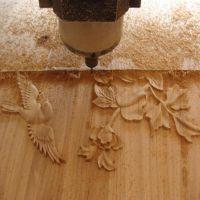 密度板切割雕刻机 双色板广告刻字雕刻机 三工序板式家具生产线