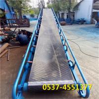 兴亚优质装车皮带机 车间生产线运输机 大豆皮带输送机厂家