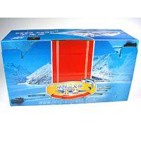 海鲜礼品彩盒包装 食品包装盒QS认证 上海彩盒印刷厂景浩