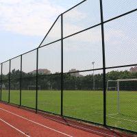 珠海学校球场围网施工、小区篮球场安全围网施工、包塑围网厂家