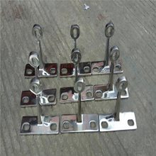 金裕 厂家直销 304不锈钢驳接爪 玻璃幕墙爪 雨棚楼梯配件 220型四爪