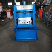 地鑫400压瓦机 铝镁锰板生产设备 角驰铝镁锰屋面瓦压瓦机 采购压瓦设备
