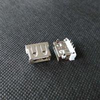 中美版苹果款USB插板AF 短体10.6 USB2.0母座 IP-4代-dip-充电A母