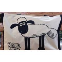 供应2×1涤棉帆布印小羊,密度48*26,幅宽150cm,箱包手袋鞋子用布