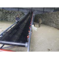 装车皮带输送机 物流港口装卸皮带机 润华装车传送带