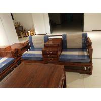 中山市红木家具新中式沙发特点刺猬紫檀