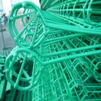 社区美化栅栏 浸塑卷圈社区围栏 抗氧化双圈防护栏 批发价热销