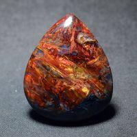 原产地矿区直供亿万年火山纹天然矿物晶体精品多彩彼得石挂件包邮