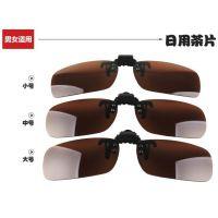 偏光夹片 近视夹片 太阳镜夹片近视眼镜夹片司机墨镜厂家直销