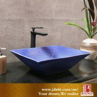 陶瓷台上洗手盆 欧式台上盆圆形碗盆 卫生间洗脸盆艺术盆