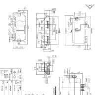 MICRO 3.0沉板母座 10P 沉板0.75 两脚(四脚)插板DIP+SMT卷边-CY科技