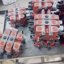 ZL15.2液压分片式多路阀装载机分配器操纵阀手动阀青州昌盛流量63L