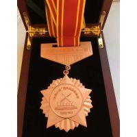 三亚订做金属勋章厂家海口荣誉勋章设计制作