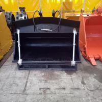 挖掘机倾斜斗制作 斜坡等平面的修整 油缸控制倾斜角度 效率高