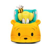 感恩迪士尼定制维尼款儿童安全座椅 0-4岁正反双向安装