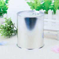 厂家直销空白食品代餐粉包装罐茶叶马口铁盒定制圆形易拉金属罐现