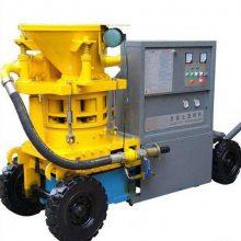 中拓小型混凝土喷浆机轮式设计移动方便