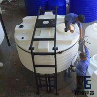 10T吨外加剂复配罐/10立方可装搅拌机的塑料桶