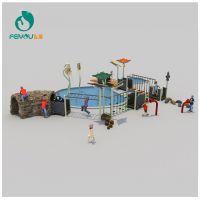 浙江实力厂家全球直供 飞友牌17新品游乐设施 幼儿园小区户外组合游乐设施