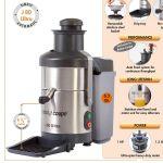 供应法国Robot coupe罗伯特蔬果榨汁机J80 Ultra星级酒店专用果汁机