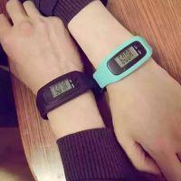 厂家直销赠送礼品运动手表手环 LED便宜硅胶计步器穿戴智能手环